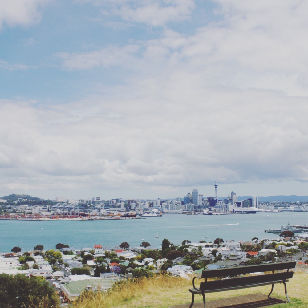 View of Auckland from Devonport -The Wandering Darlings