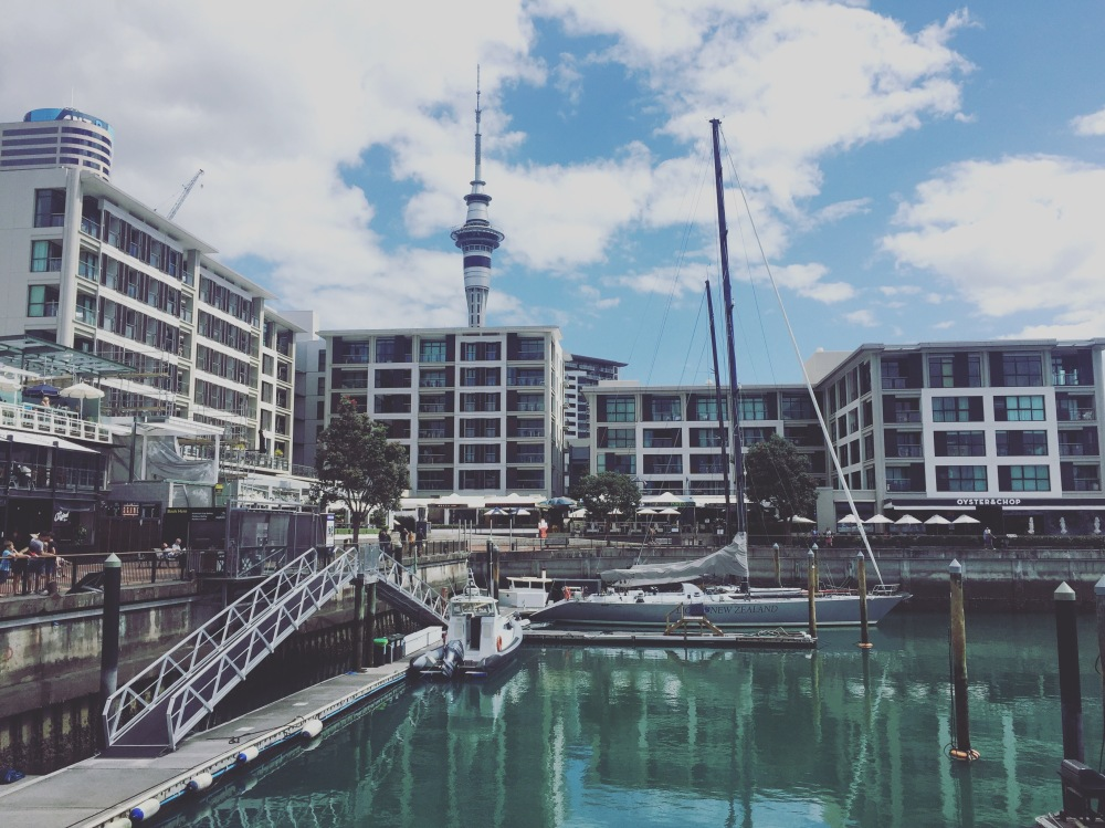 Viaduct Harbour Auckland New Zealand. What to do in auckland by the Wandering Darlings