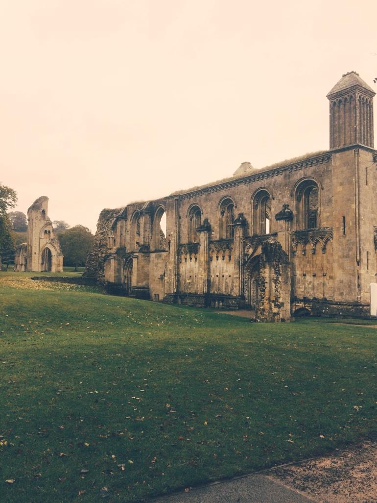 Glastonbury Abbey by The Wandering Darlings