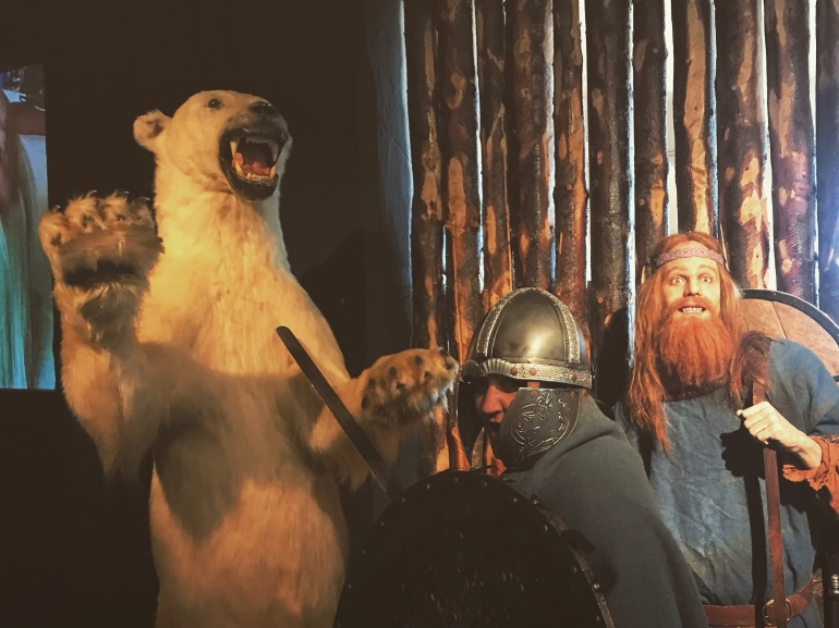 Dressing as a Viking saga centre in Reykjavik. Photos to make you want to visit Iceland.